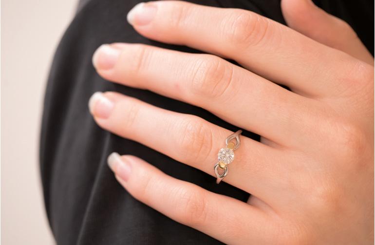 Nortic Diamond Engagement Ring