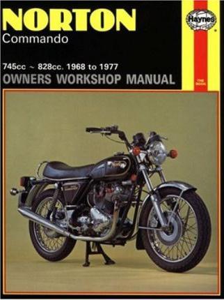 Norton Commando Owners Workshop Manual