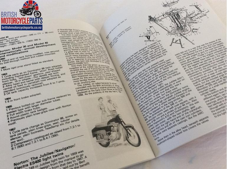 Norton Motorcycles 1950 - 1986 - British Motorcycle Parts Ltd - Auckland NZ