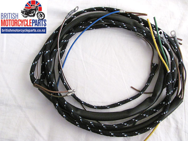 Norton Pre-Featherbed Cloth Wiring Loom Harness 1950-55 British Motorcycle Parts