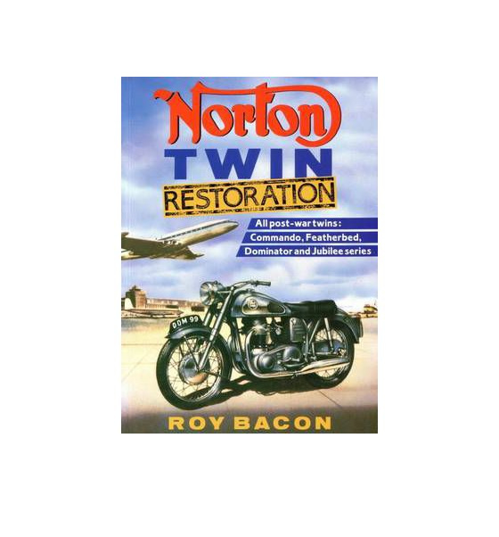 Norton Twin Restoration - Roy Bacon - British Motorcycle Parts Ltd - Auckland NZ
