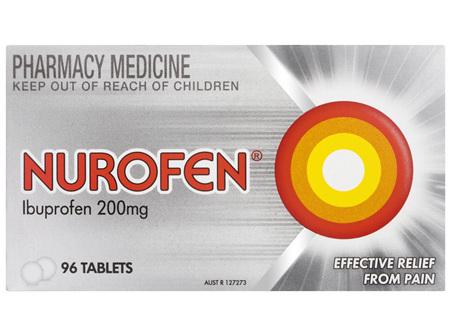 Nurofen 96 Tablets