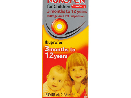 NUROFEN Child Liq. Strawberry 200ml