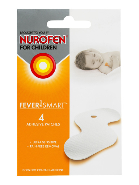 Nurofen for Children FeverSmart Temperature Monitor Refill Patches 4 Pack