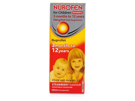 NUROFEN FOR CHILDREN STRAWBERRY 200ML
