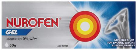 Nurofen Pain and Inflammation Relief Gel 5% Ibuprofen 50g