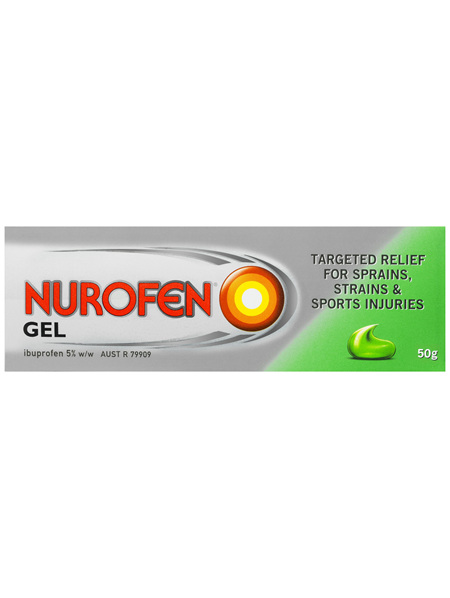 Nurofen Pain and Inflammation Relief Gel 5% Ibuprofen 50g