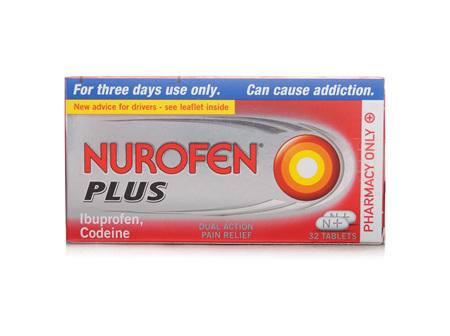 Nurofen Plus 200mg Tablets 30  x 12