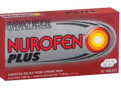 Nurofen Plus Tablets 200mg 30 Tabs