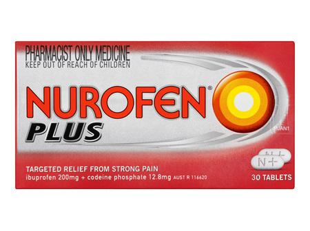 Nurofen Plus Tablets 30 Pack