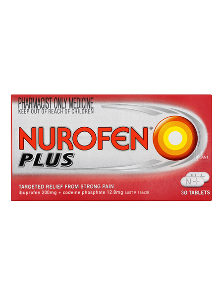 Nurofen Plus Tablets 30 Pack