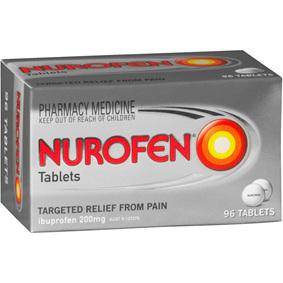 Nurofen Tablets 200mg 96