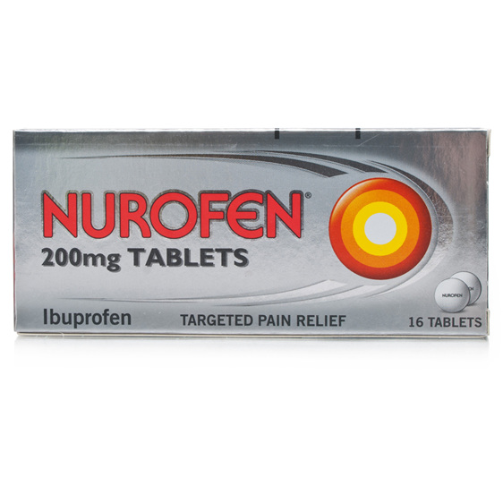 Nurofen Tablets 200mg 96