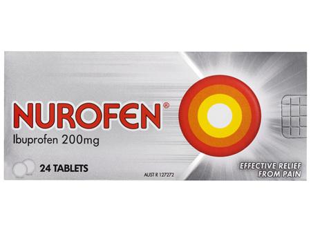 Nurofen Tablets 24s 200mg Ibuprofen anti-inflammatory pain relief