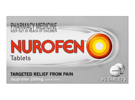 Nurofen Tablets 96 Pack