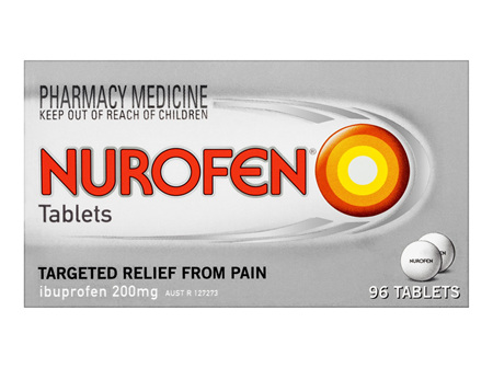 Nurofen Tablets 96 Pack