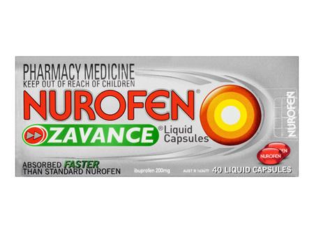 Nurofen Zavance Liquid Capsules 40 Pack
