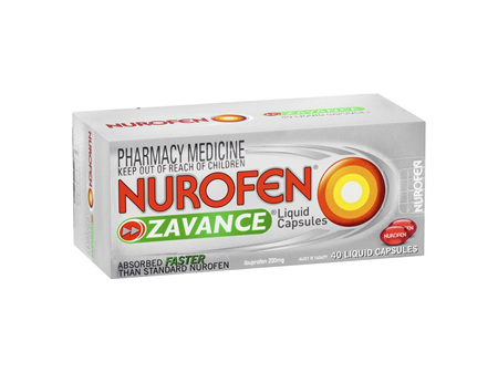 Nurofen Zavance Liquid Capsules 40s