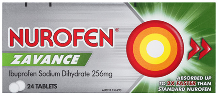 Nurofen Zavance Tablets 24s 200mg Ibuprofen Pain Relief