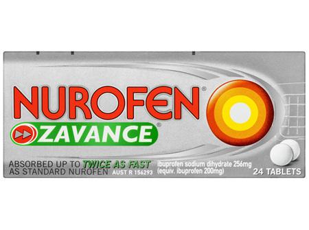 Nurofen Zavance Tablets 24s 200mg Ibuprofen Pain Relief