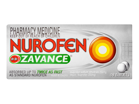 Nurofen Zavance Tablets 48 Pack