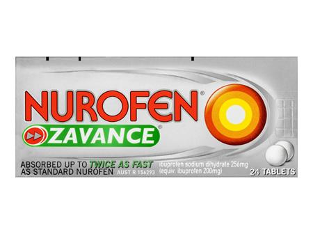 Nurofen Zavance Tablets Pain Relief 24 Pack