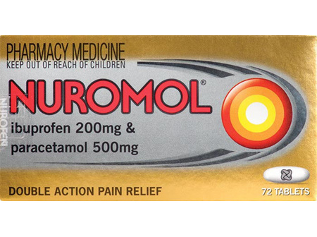 Nuromol 72 Tablets