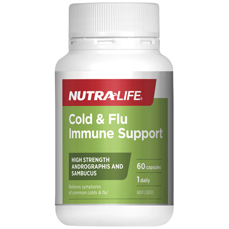 Nutra-Life Cold & Flu Immune Support 60c