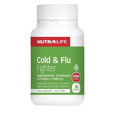 Nutra-Life Cold&FluFighter Cap50