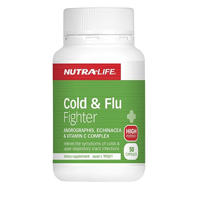 Nutra-Life Cold&FluFighter Cap50