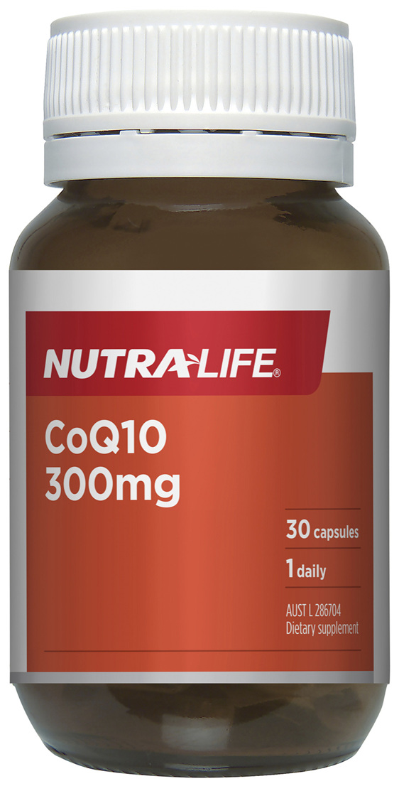 Nutra-Life CoQ10 300mg 30 capsules