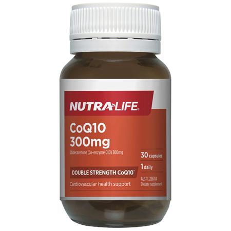 Nutra-Life CoQ10 300MG 30c