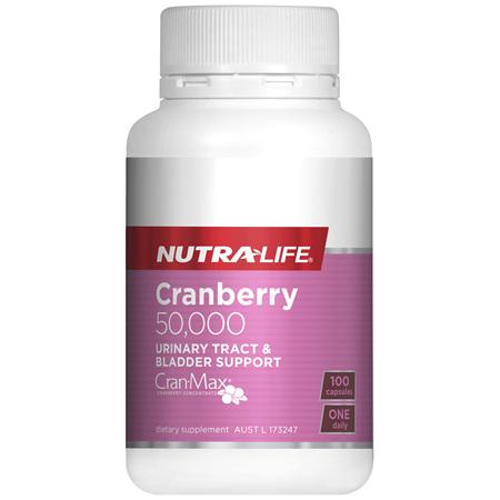 Nutra-Life Cranberry 50,000 100 capsules