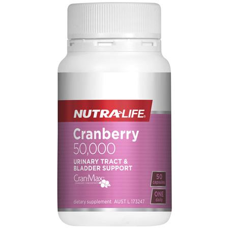 Nutra-Life Cranberry 50,000 50 capsules