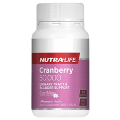 NUTRA-LIFE Cranberry 50000mg 50caps