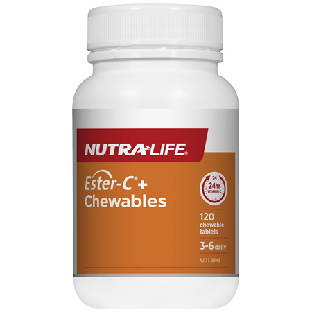 Nutra-Life Ester-C® + 500 120 chewable tablets