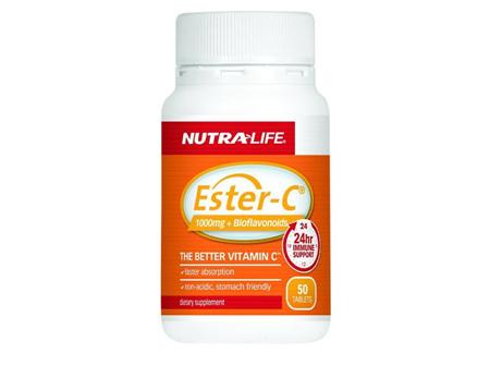 Nutra-Life Ester C + Bioflavanoid 1000mg 50 Tabs