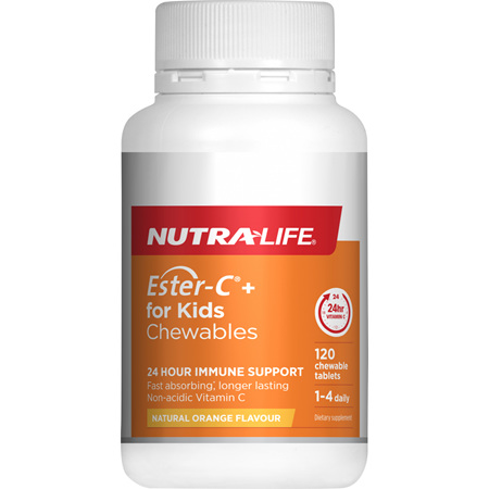 NUTRA-LIFE Ester C For Kids 120tabs