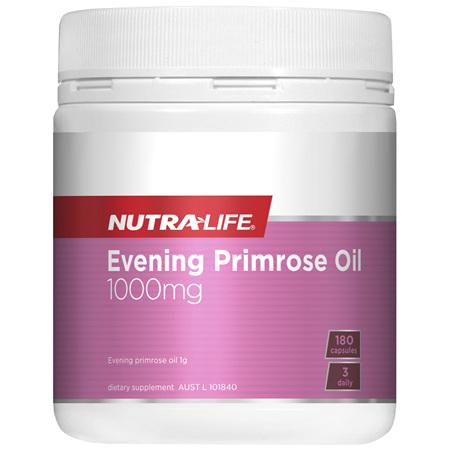Nutra-Life Evening Primrose Oil 1000mg 180 capsules