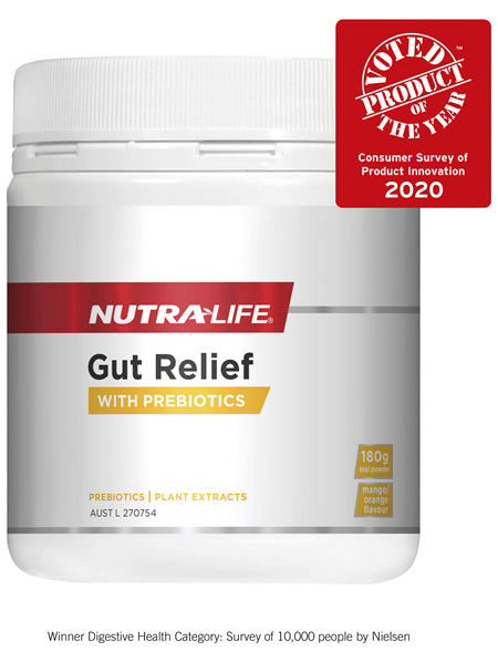 Nutra-Life Gut Relief 180g oral powder
