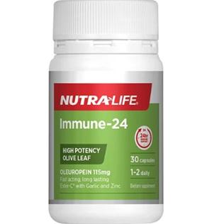NUTRA-LIFE Immune-24 Capsules 30s