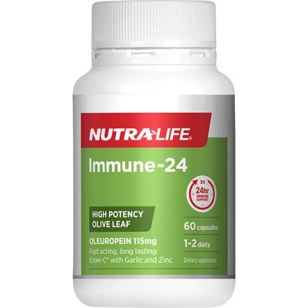 NUTRA-LIFE Immune-24 Capsules 60s
