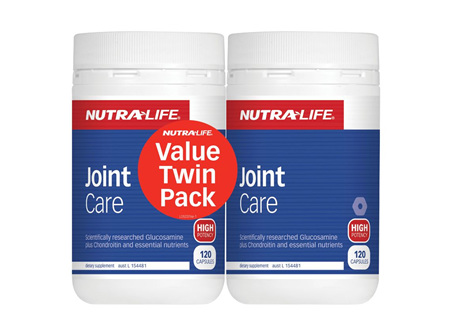 Nutra-Life Joint Care 120 Caps Twin Pack