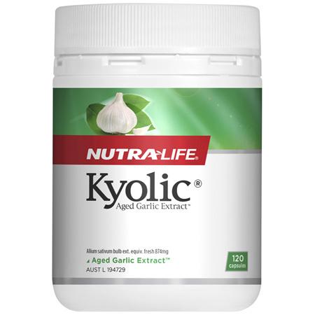 Nutra-Life Kyolic® Aged Garlic Extract™ 120 capsules