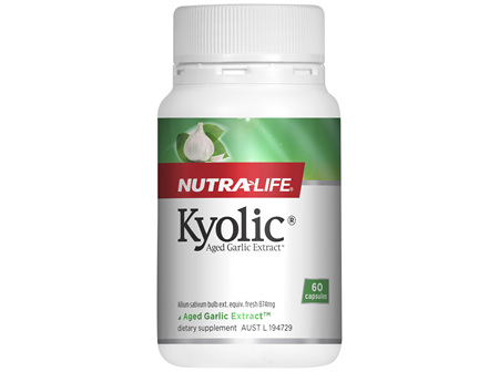 Nutra-Life Kyolic® Aged Garlic Extract™ 60 capsules