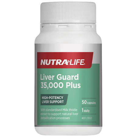 Nutra-Life Liver Guard 35,000 Plus 50c