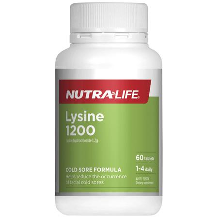 Nutra-Life Lysine 1200 60 tablets