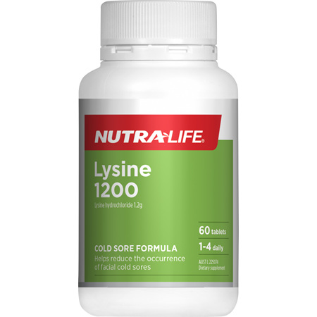 NUTRA-LIFE Lysine 1200mg 60tabs