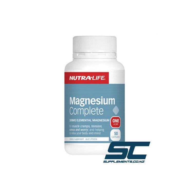 Nutra-Life Magnesium Complete 50 Caps