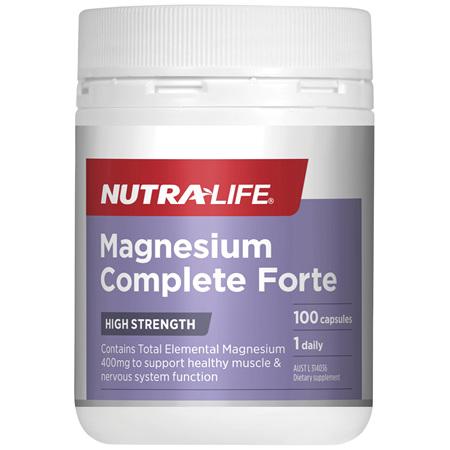 Nutra-Life  Magnesium Complete Forte 100c